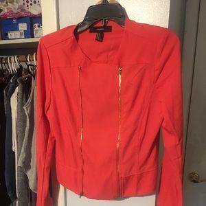 New women's cropped blazer jacket size S/M